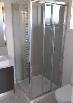 Framed Sliding Shower Screen